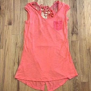 Candie's pink top with tags